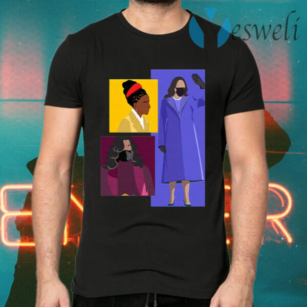 Kamala Harris Michelle Obama Amanda Gorman T-Shirt