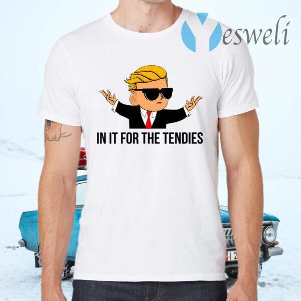 Trump Gamestonk In It For The Tendies T-Shirt
