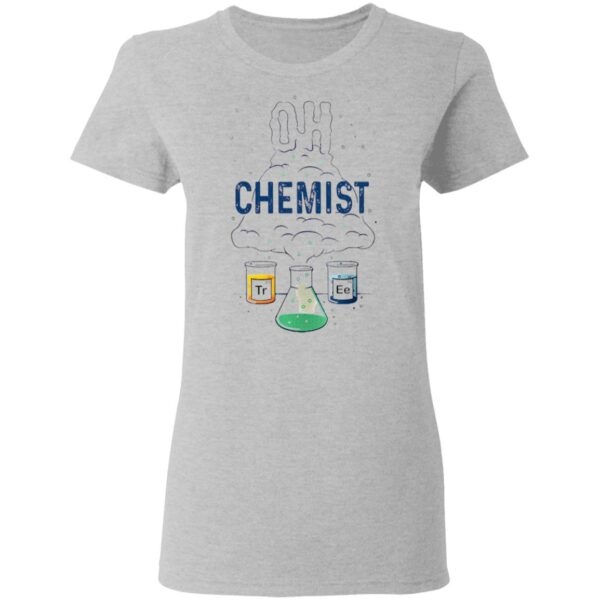 Chemist Reaction Oh Christmas Tree T-Shirt