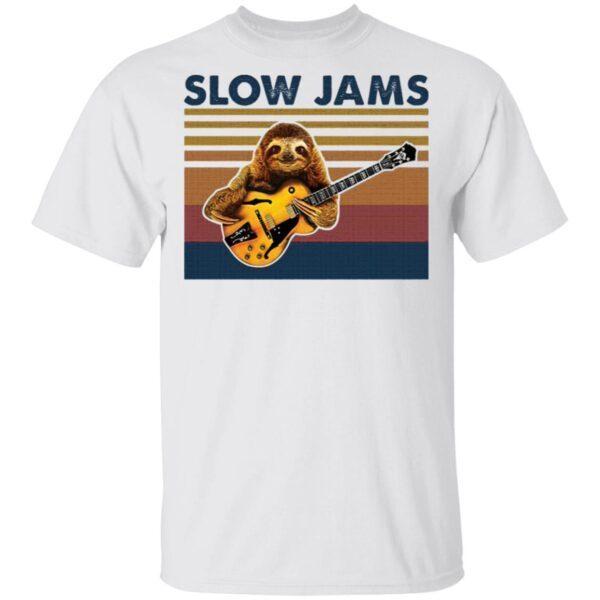 Slow Jams Sloth T-Shirt