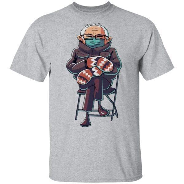 Bernie Sanders Inauguration Mittens Meme T-Shirt
