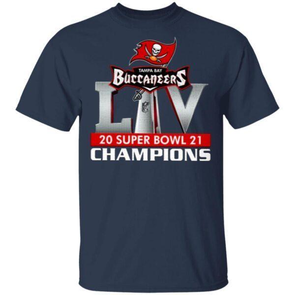 Tampa Bay Bucs 2021 Super Bowl Championship T-Shirt