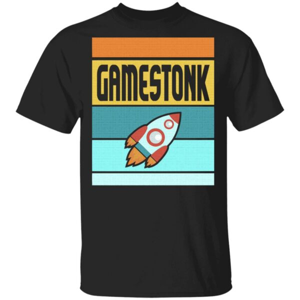 Vintage Of Gamestonk Game To The Moon T-Shirt