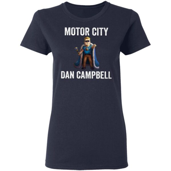 Motor City Dan Campbell T-Shirt