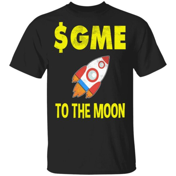 $GME To The Moon Ff GameStonk T-Shirt