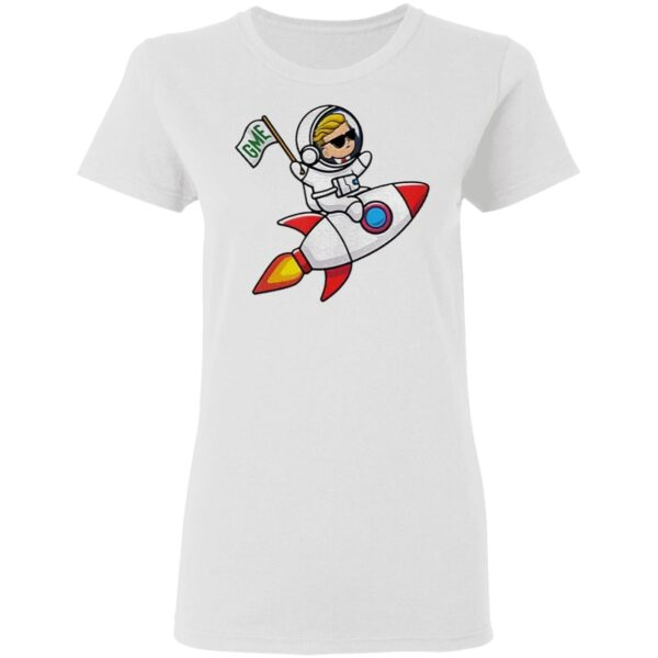 Thank You GME Stonk to the Moon WSB Stock Market Invest GME T-Shirt