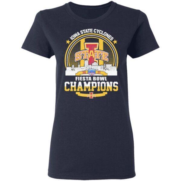 Lowa State Cyclones State Fiesta Bowl Champions 2021 T-Shirt