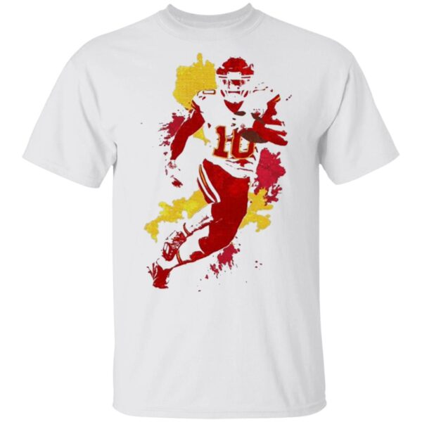 Tyreek Hill Kansas City Chiefs Colorful T-Shirt