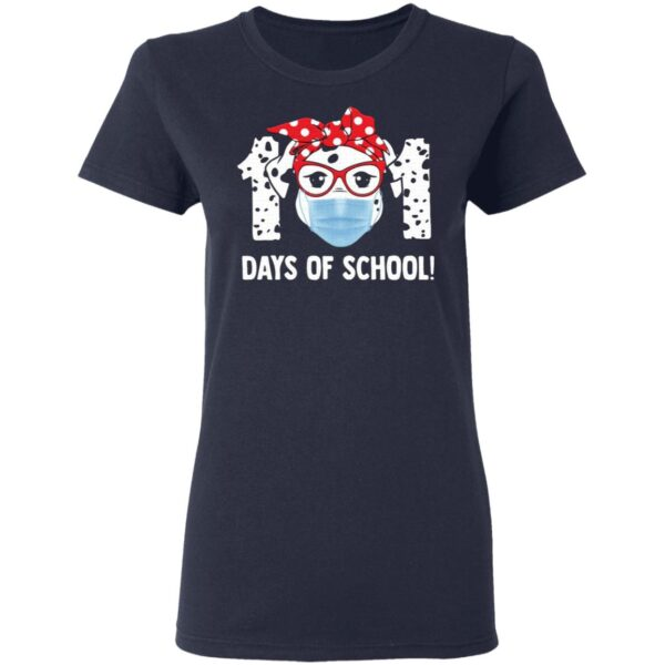 Dog Wearing Mask 101 Days of School Youth T-Shirt