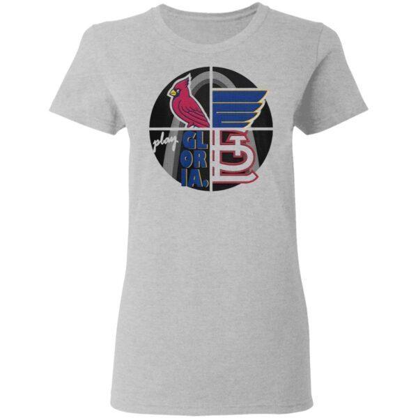 Play Gloria St Louis Cardinals 2021 T-Shirt