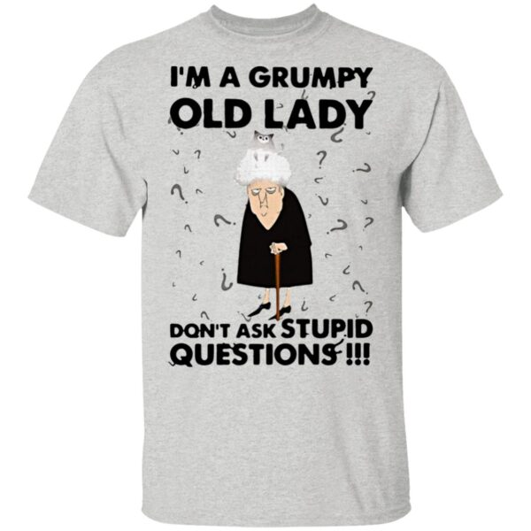 I'm A Grumpy Old Lady Don't Ask Stupid Questions T-Shirt