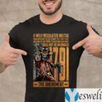 1791 2nd Amendment A Well Regulated Militia Shirt