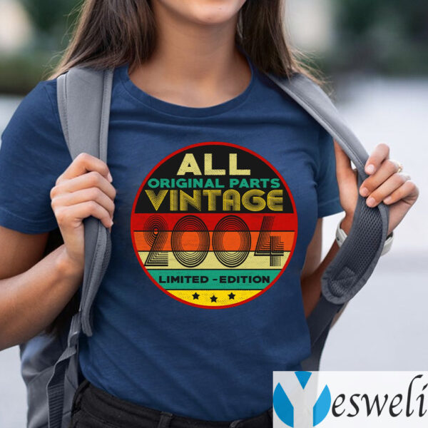 All Original Parts Vintage 2004 Limited Edition Shirts