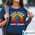 American Stop Asian Hate Crimes Shirt