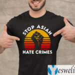 American Stop Asian Hate Crimes Shirts