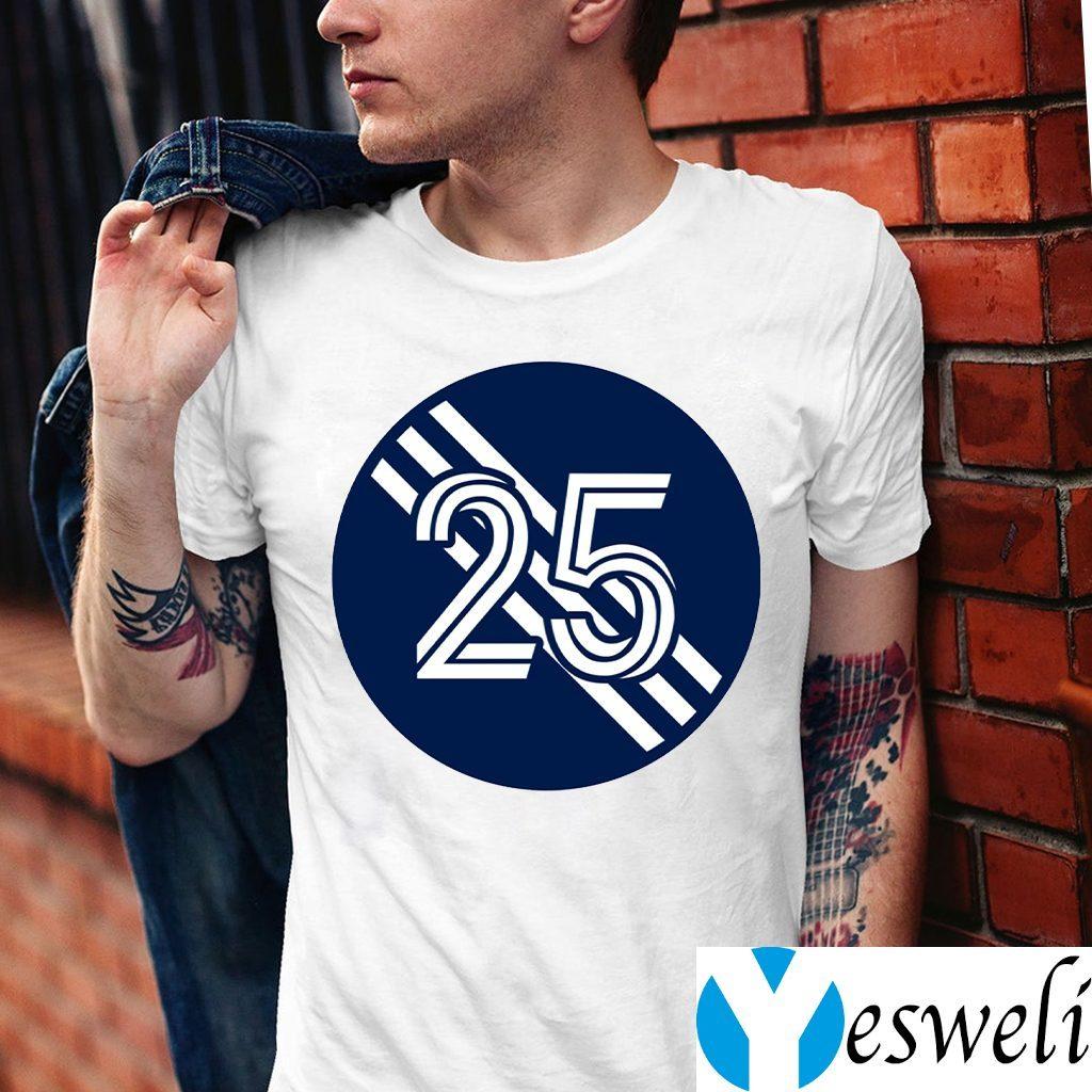 Arnór Ingvi Traustason Number 25 Jersey New England Revolution Inspired T-Shirt