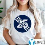 Arnór Ingvi Traustason Number 25 Jersey New England Revolution Inspired T-Shirts