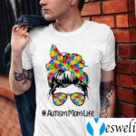 Autism Mom Life I Love Someone with Autism Autism Awareness Shirts