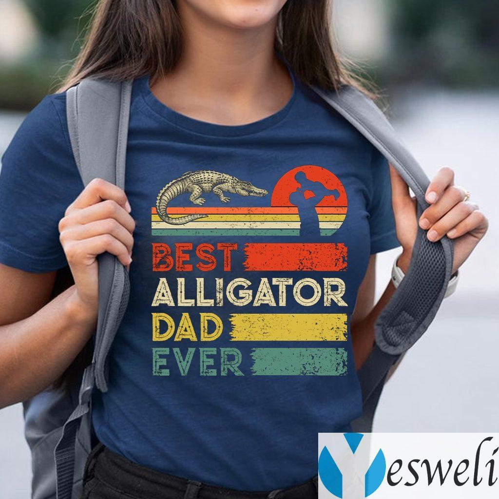 Best Alligator Dad Ever Animals Lover Shirt