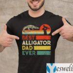 Best Alligator Dad Ever Animals Lover Shirts