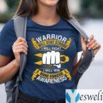 Bone Cancer Awareness Warrior I Will Stay Strong TeeShirt