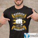 Bone Cancer Awareness Warrior I Will Stay Strong TeeShirts