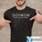 Boy Mom The One Where I'm Outnumbered Shirt