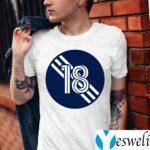 Brad Knighton Number 18 Jersey New England Revolution Inspired T-Shirt