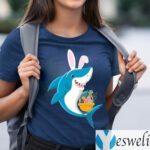 Bunny Shark Doo Doo Doo Easter Egg T-Shirts