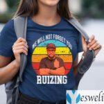 Carl Ruiz We Will Not Forget You Ruizing Vintage Shirts