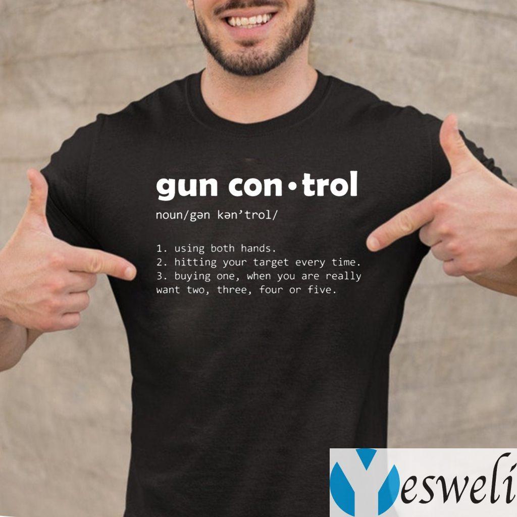 Definition Gun Control T-Shirt