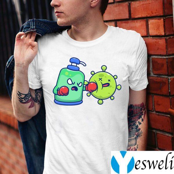 Desinfectant fight coronavirus Shirts