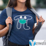 Face Masked Pi Happy Pi's Day T-Shirts