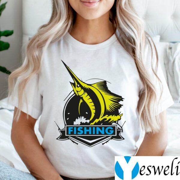 Fishing On Rough Seas Shirt