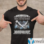 I'm Not A Widower I'm A Husband To A Beautiful Wife With Wings TeeShirts