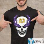 Lebron James Stone Cold Steve Austin Skull T-Shirt
