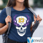 Lebron James Stone Cold Steve Austin Skull T-Shirts