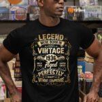 Legends Were Born in 1936 85th Birthday 85 Years Old TeeShirt