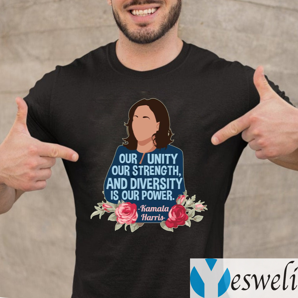 Our Unity Diversity Is Our Power Women Empowerment T-shirt