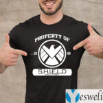 Property Of Est 1949 S.H.I.E.L.D Athletic Dept Shirts