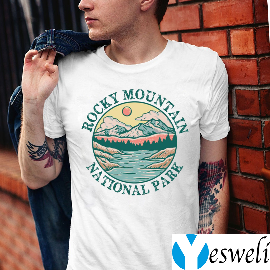 Rocky Mountain National Park Vintage Shirt