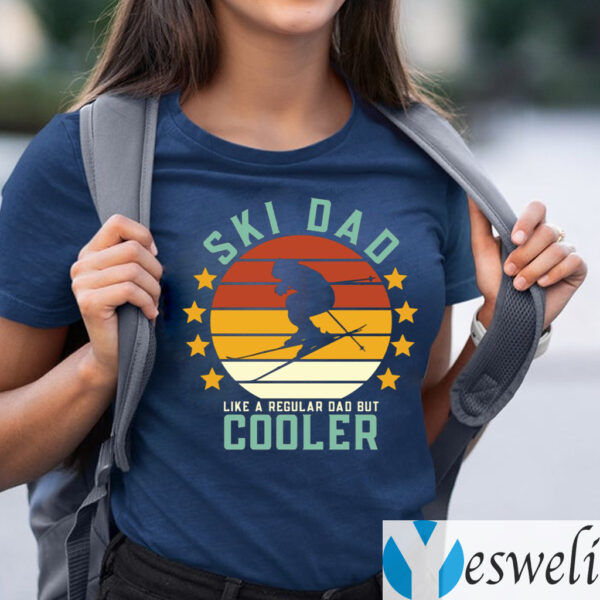 Ski Dad Like A Regular Dad But Cooler TeeShirt