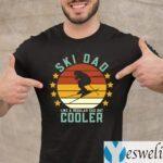 Ski Dad Like A Regular Dad But Cooler TeeShirts