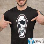 Skull Coffin Artwork T-Shirt