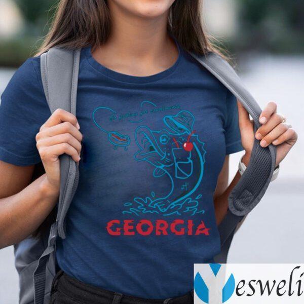 Sonic Go Fishing For Condiments Georgia TeeShirt