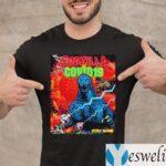 Team Godzilla And Covid 19 Stay Home Shirt