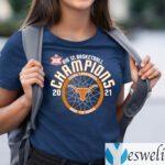 Texas Longhorns 2021 big 12 basketball champions shirts