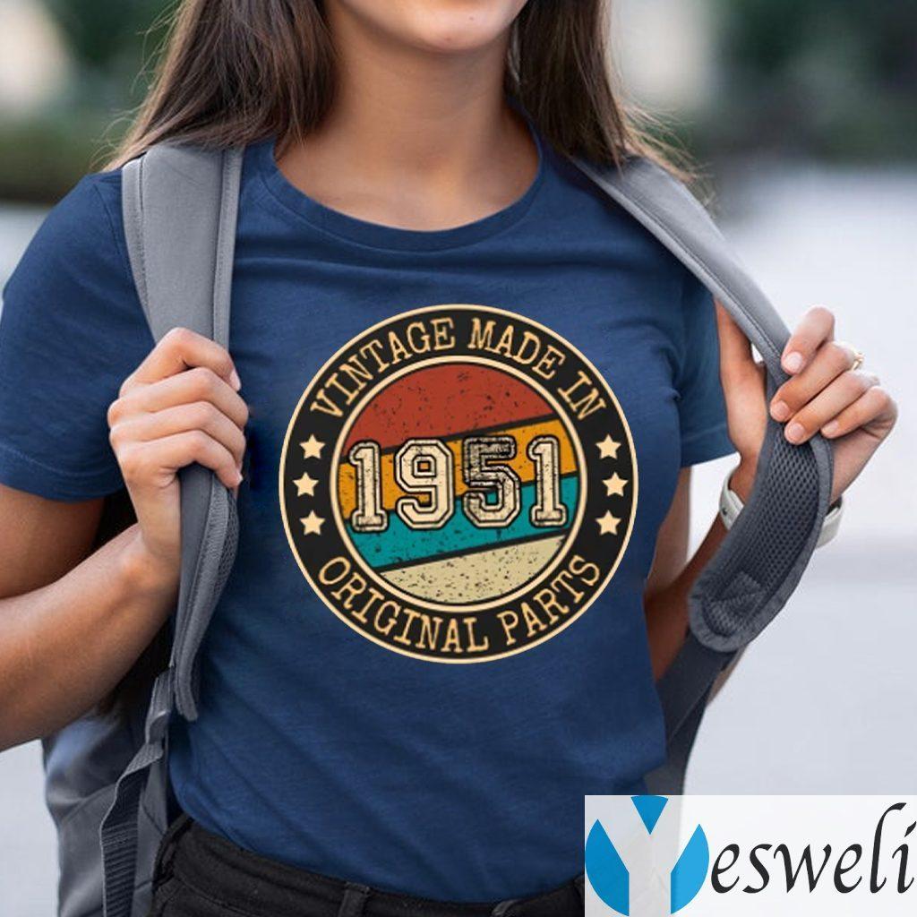 Vintage 1951 69th Birthday TeeShirt