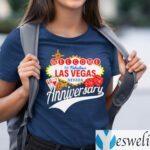 Welcome To Fabulous Las Vegas Nevada 6th Anniversary TeeShirt