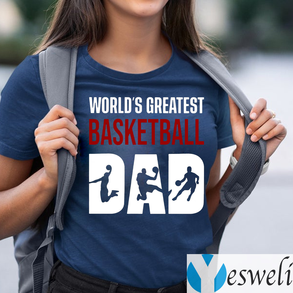 World s Greatest Basketball Dad Shirt
